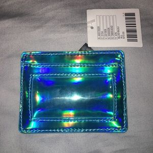 Urban Outfitters Holographic Credit Card Holder